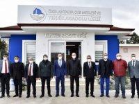Başkan Bahar, İl Milli Eğitim Müdürü'ne Teknik Kolej'i tanıttı