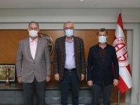 Kepez Belediyespor'dan Başkan Yılmaz'a ziyaret