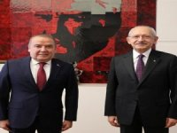 Başkan Muhittin Böcek Kılıçdaroğlu'nu ziyaret etti
