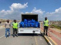 Masa Dağı'nda gönüllü temizlik