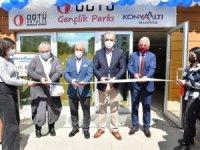 ODTÜ Gençlik Parkı Konyaaltı'nda hizmete açıldı