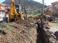 İbradı'da 30 yıllık içme suyu altyapısı yenilendi