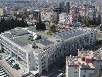 Güneş panellerinin montajı tamamlandı